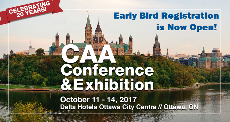 2017 CAA Conference and Exhibition