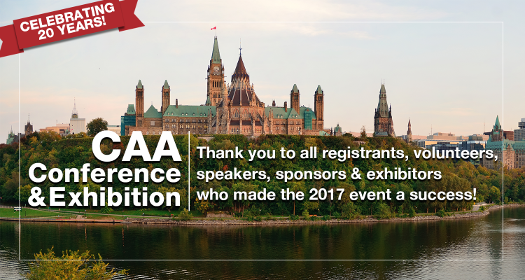 CAA Conference Thank you