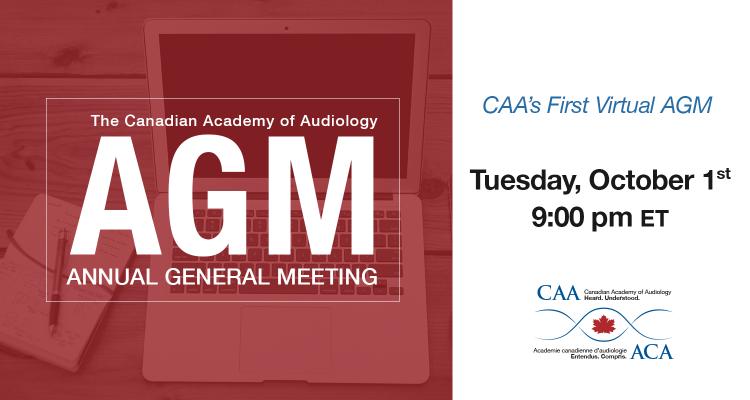 Canadian Academy of Audiology (CAA) - Audiology association